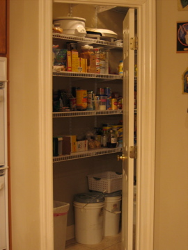 Locked in the pantry