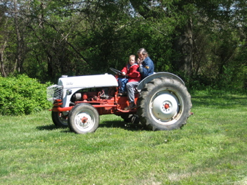 Papa's tractor
