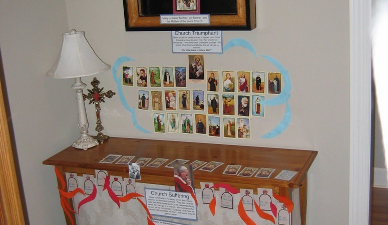 Our All Saints Day Celebration