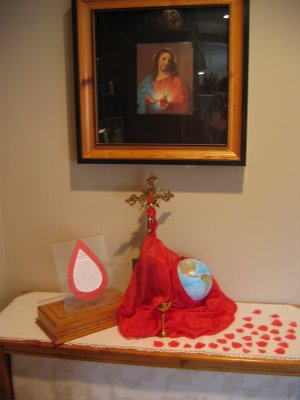 The Month of the Precious Blood