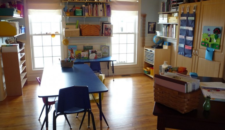 Learning Spaces – a peek at the learning room re-arranged