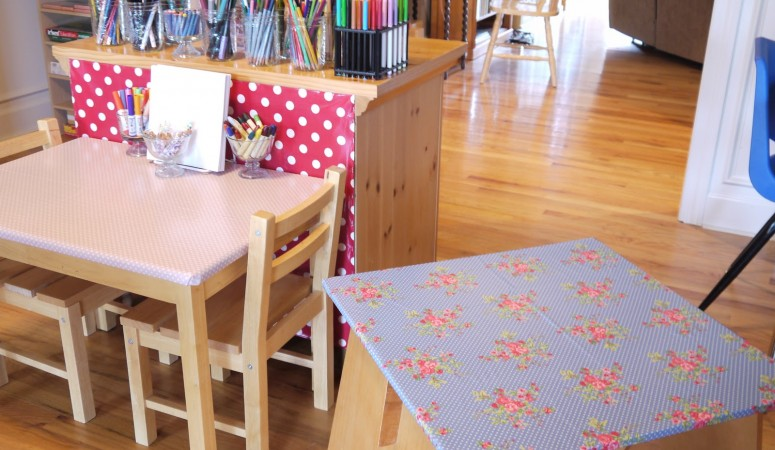 Working With Oilcloth :: Projects