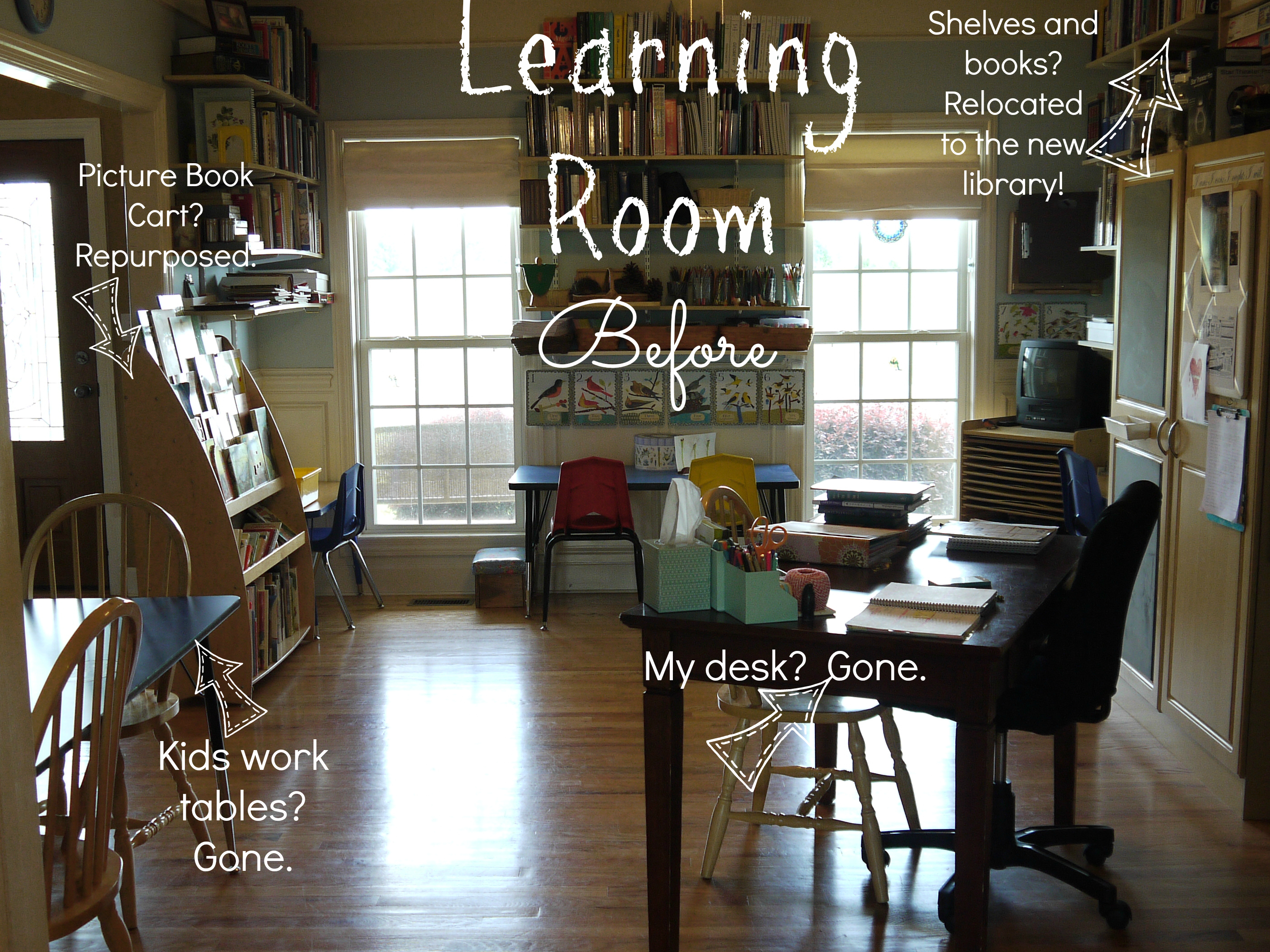 learning room BEFORE