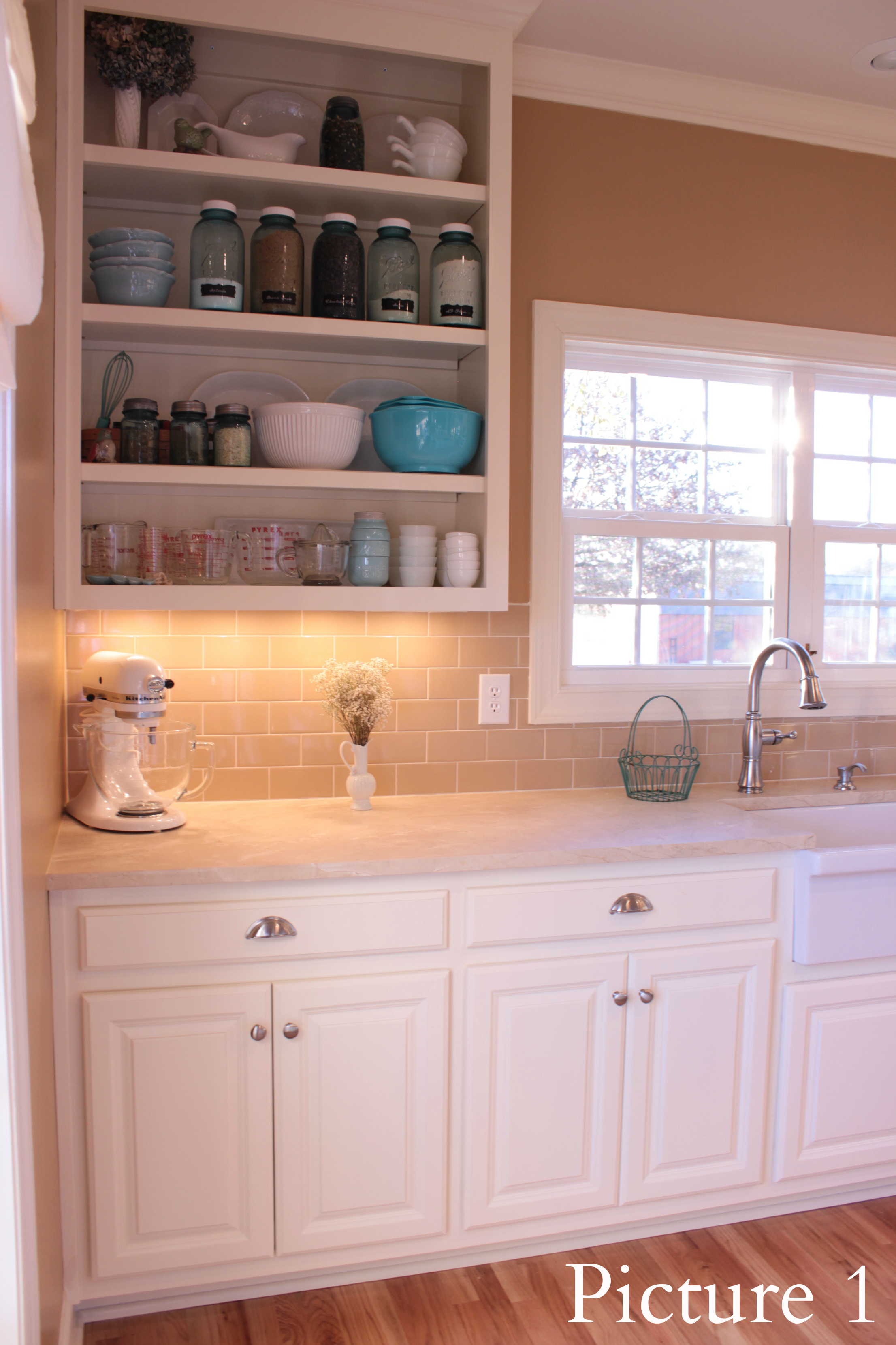 our kitchen remodel reveal: practical and pretty | | wildflowers and marbles