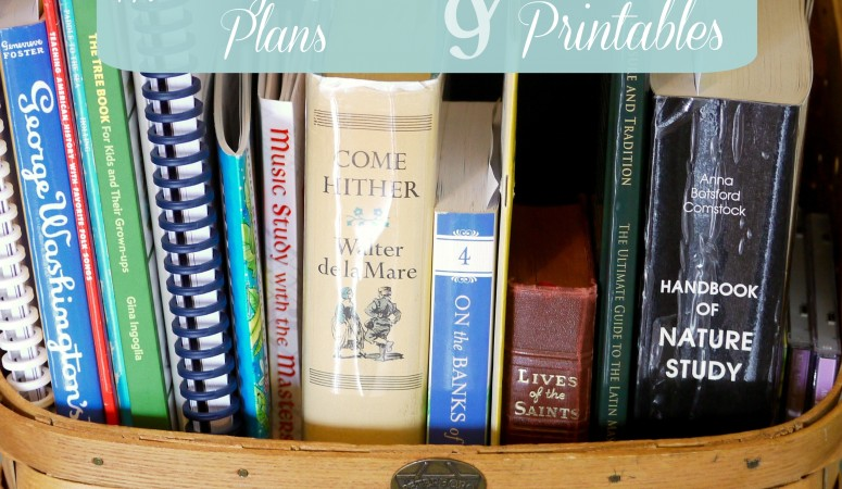 The Morning Basket Plans & Printables – 2015