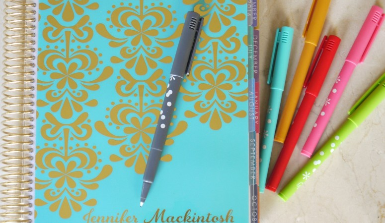 A Planner Post: How I Plan and a Review of a Few New Planner Goodies