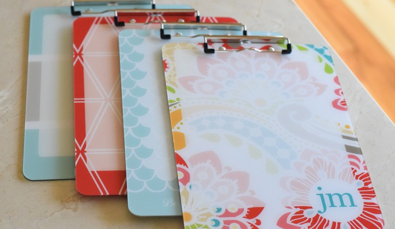 Mobile Workspace: Erin Condren Clipboards