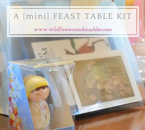 Gift Idea: A {mini} Feast Table Kit