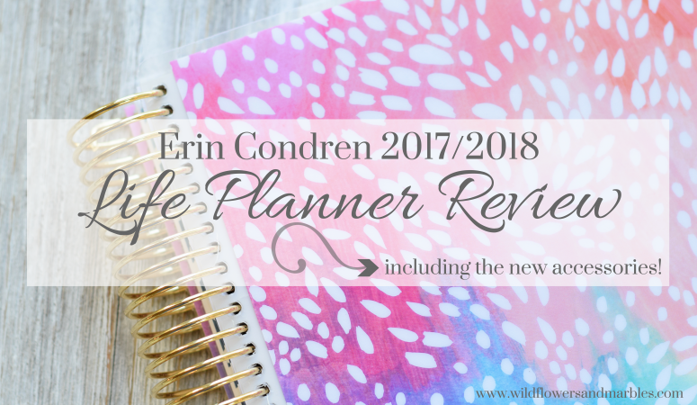 Review of the 2017-2018 Erin Condren Life Planner