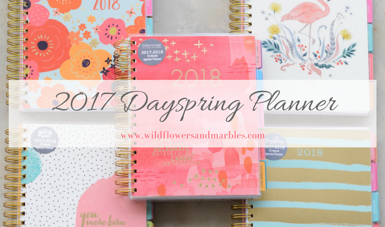 2017 Dayspring Planner Review
