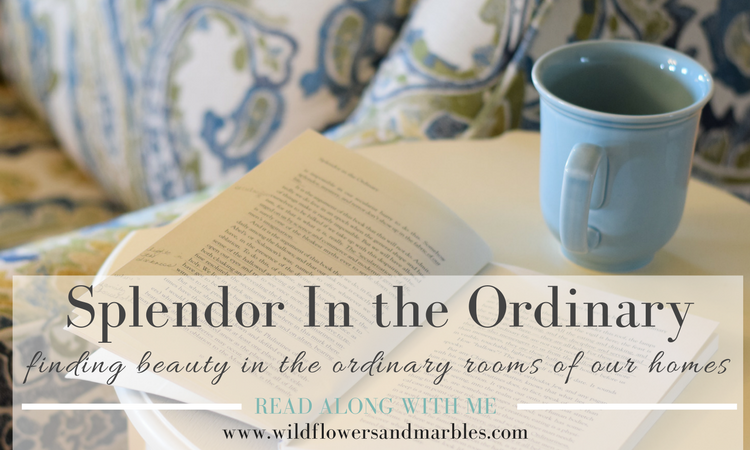Splendor In the Ordinary – The Four Walls