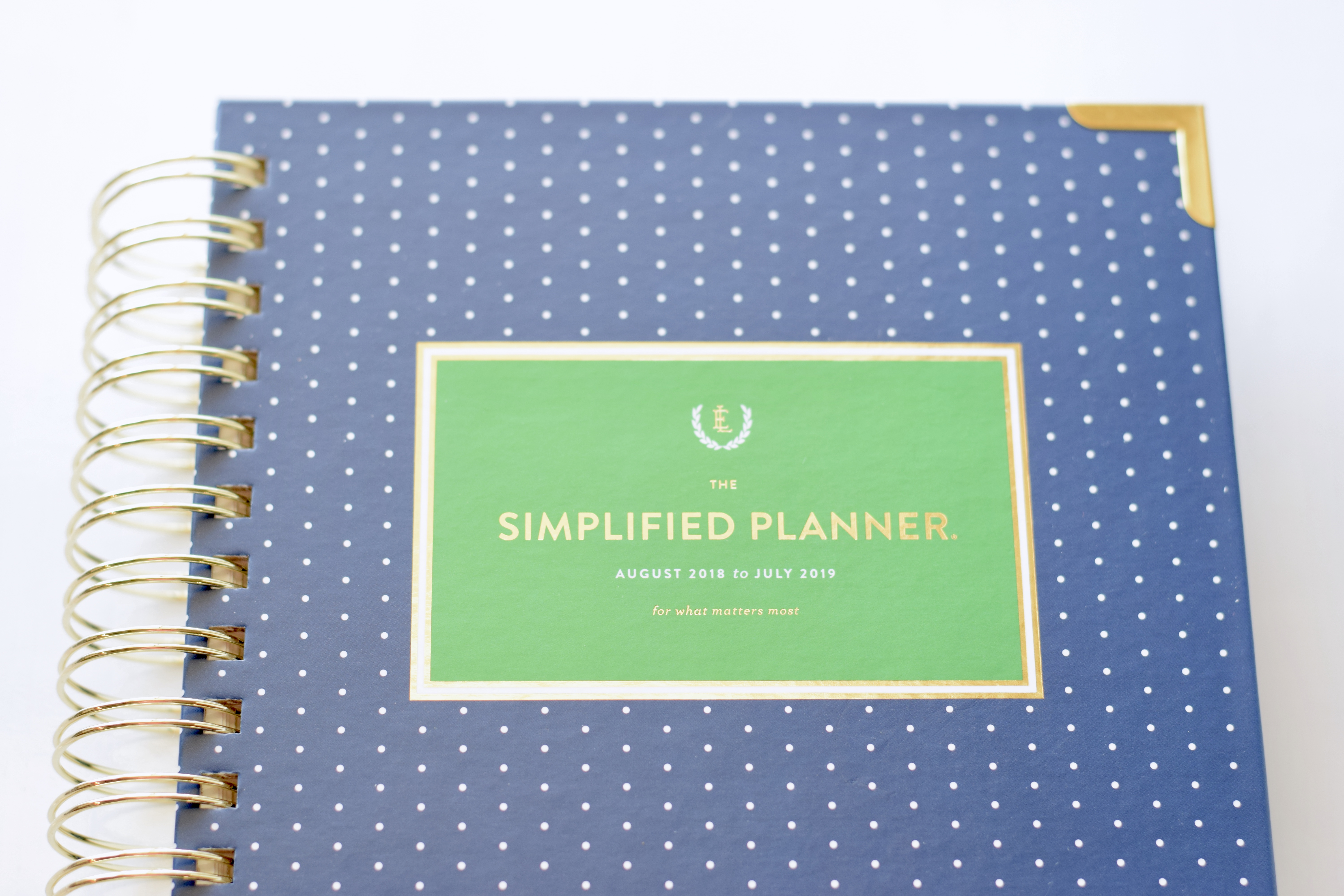 image relating to Simplified Planner Reviews titled Simplified Planner 2018-2019 Planner Evaluate How I Application
