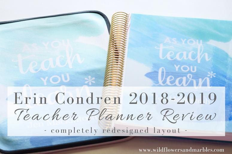 Erin Condren 2018 2019 Teacher Lesson Planner Review Brand New