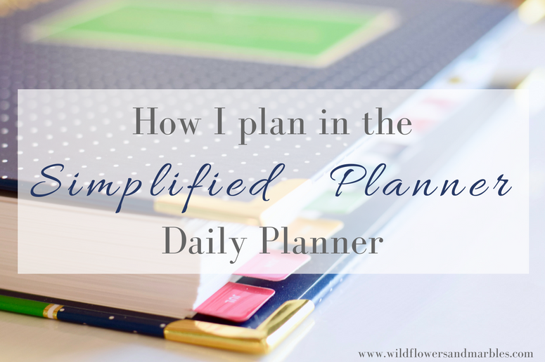 photograph relating to Simplified Planner Reviews named Simplified Planner 2018-2019 Planner Overview How I Method