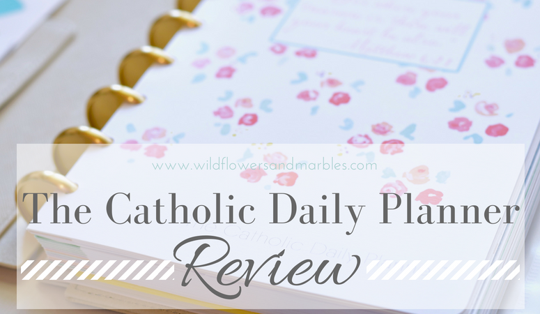 The Catholic Daily Planner – A Review