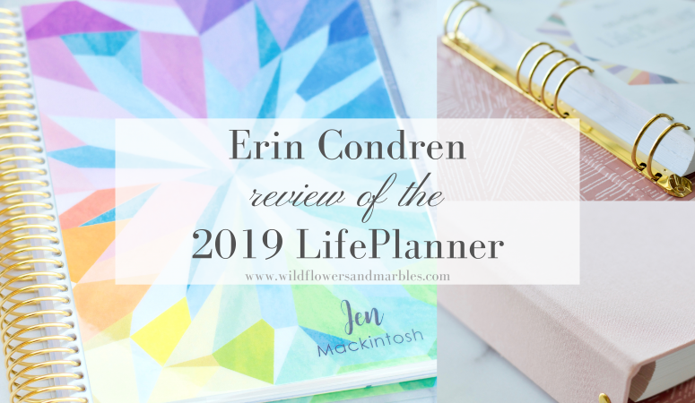 Erin Condren Life Planner 2019 | Review