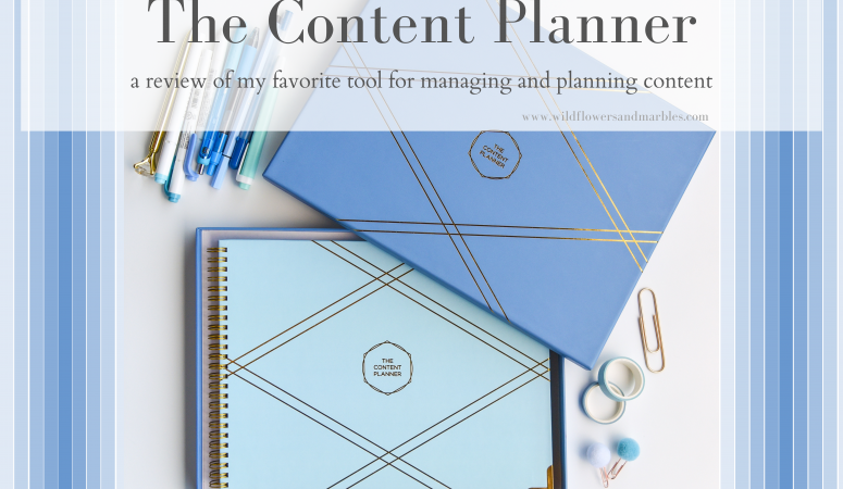 Planning Your Creative Content With The Content Planner