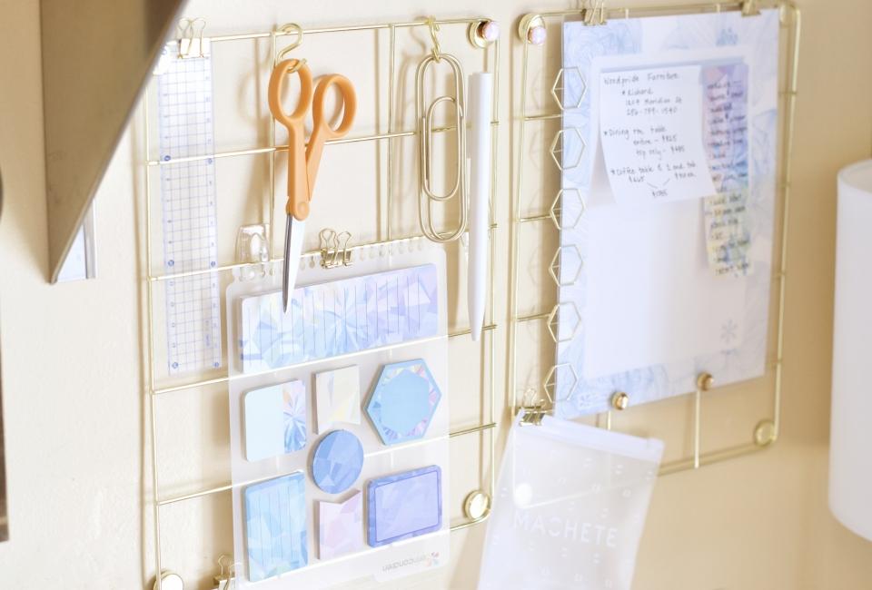 Organization, Erin Condren, Desk setup, Home Office,