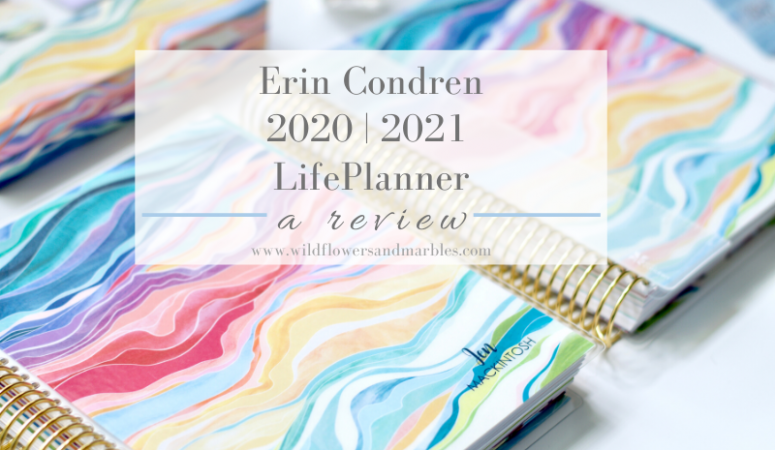 Erin Condren LifePlanner Review | 2020